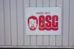 BSCウォータースポーツセンター様プレート看板
